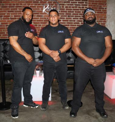 Bar and Club security team