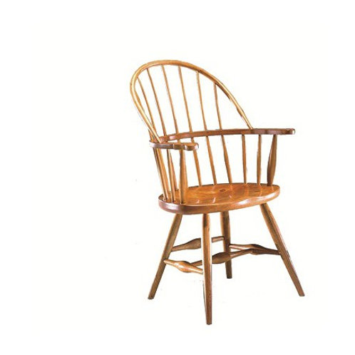 6 Contemporary Loop Back Arm Chair