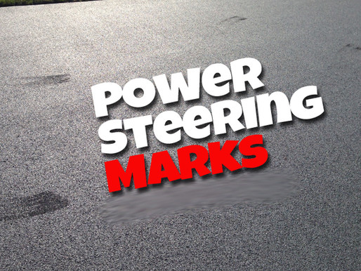 Tire Scuffing & Power Steering Marks - What?