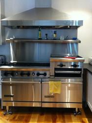 Kitchen Stove Installation