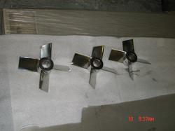 Micro Finish Impeller Blades