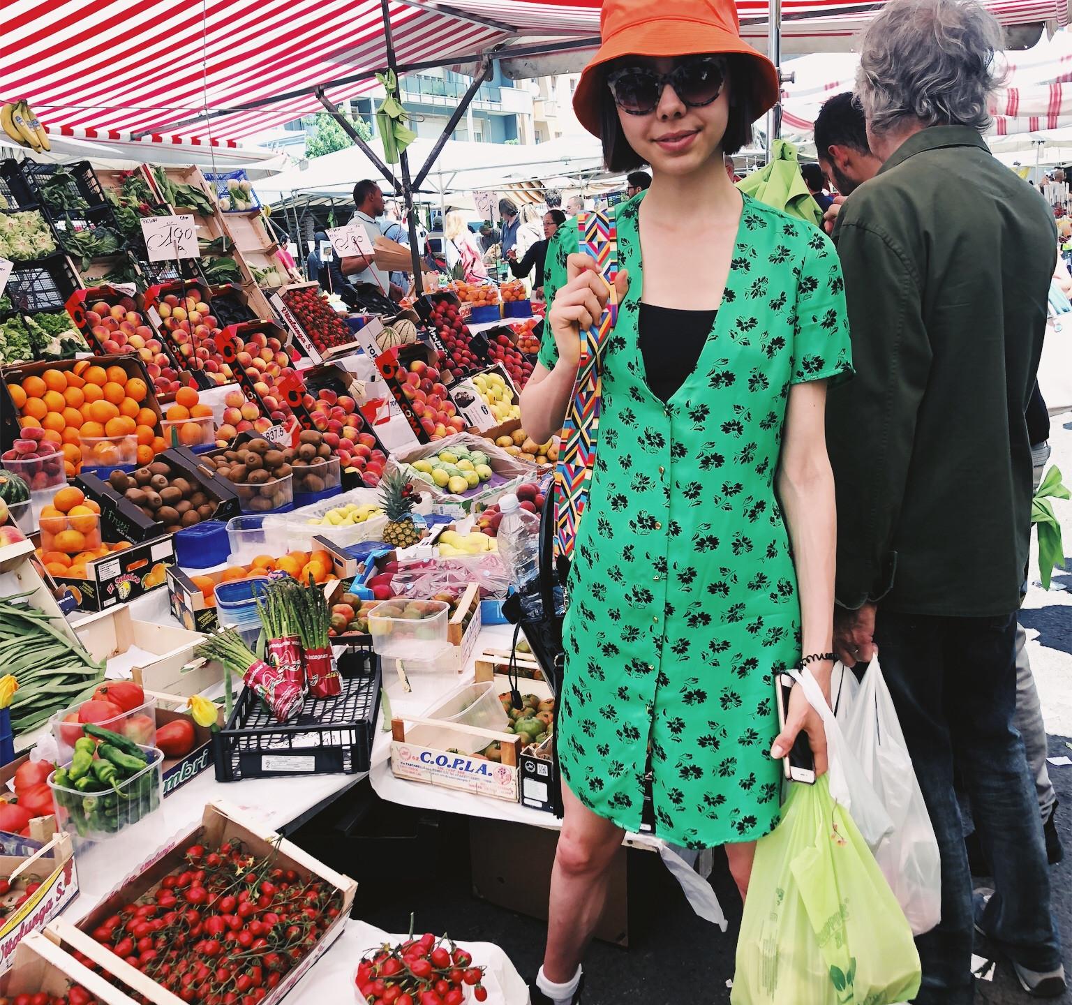 Viale Papiniano Farmers Market