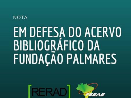 Em defesa do acervo bibliográfico da Fundação Palmares