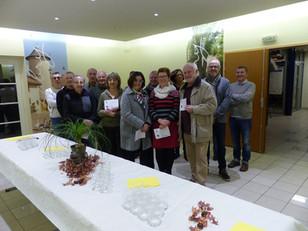 Réception des lauréats des maisons fleuries