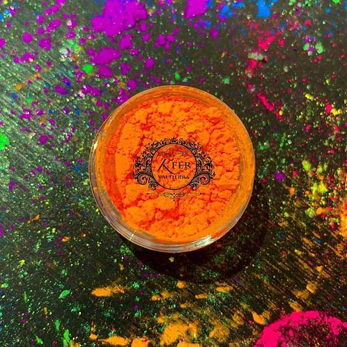 Pigmento neón naranja