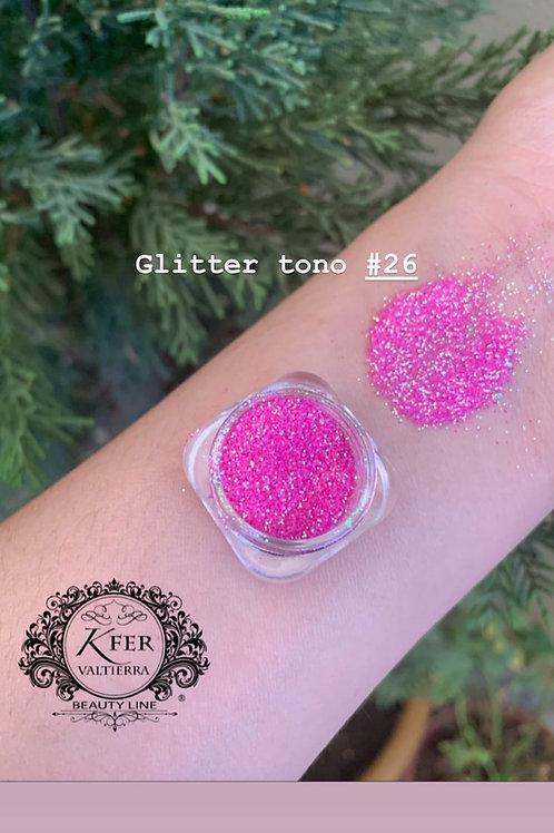 Glitter suelto tono26