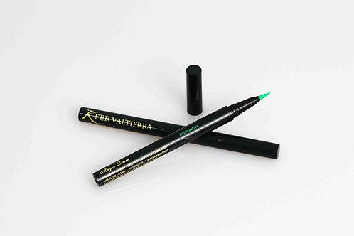 Verde/Radioactive Delineador Con Adhesivo P/Pestaña