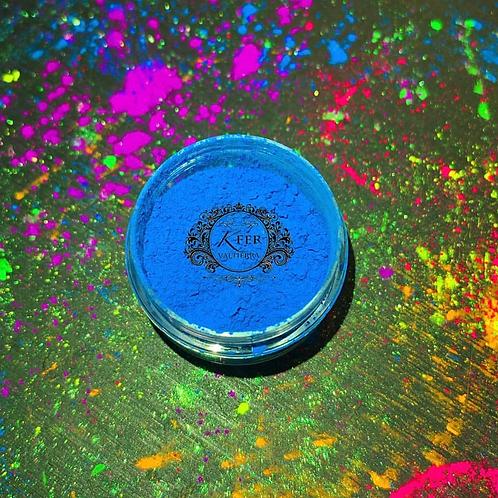 Pigmento neón azul