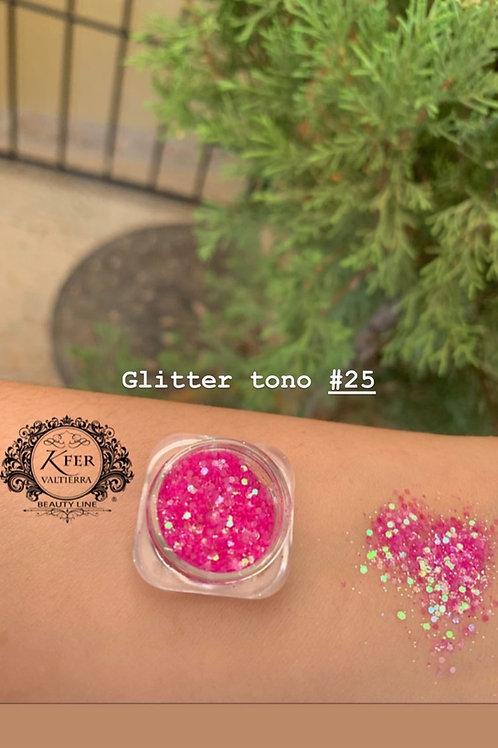 Glitter suelto tono25