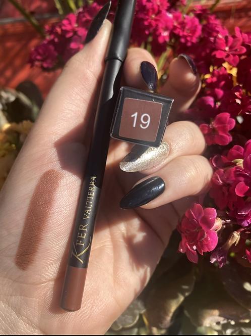 Delineador de labios y ojos #19 edicion lápiz negro