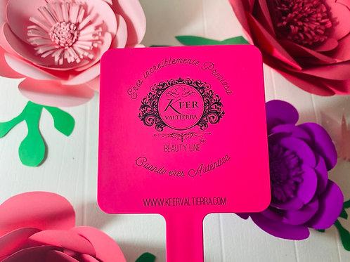 Espejo Hot Pink Rosa Fucsia 12x22 cm