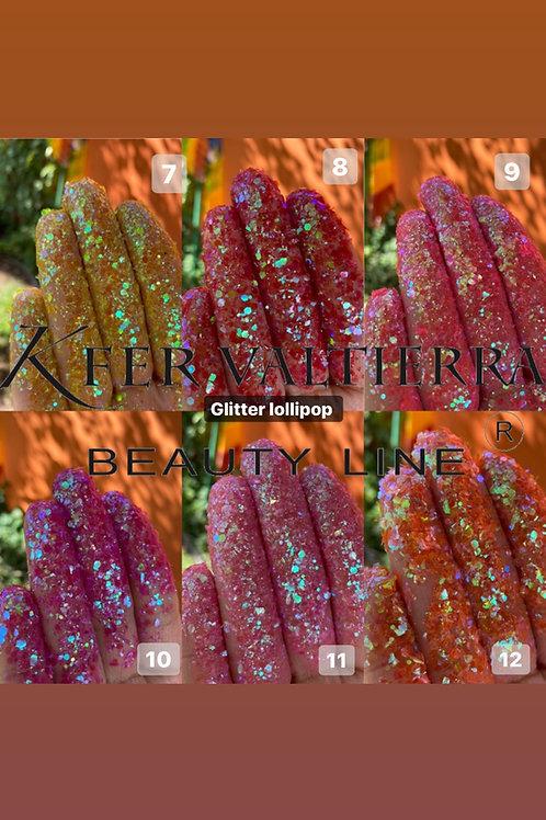 Gama glitter lollipop (12pz)