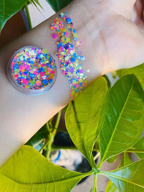 Chunky glitter confetti pastel