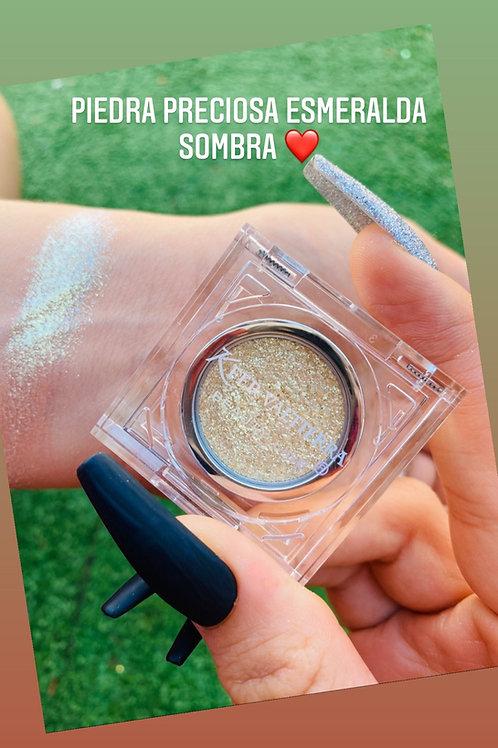 Esmeralda piedra preciosa Sombra (prensada)