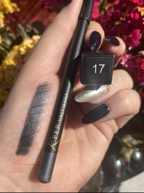 Delineador de labios y ojos #17 edicion lápiz negro