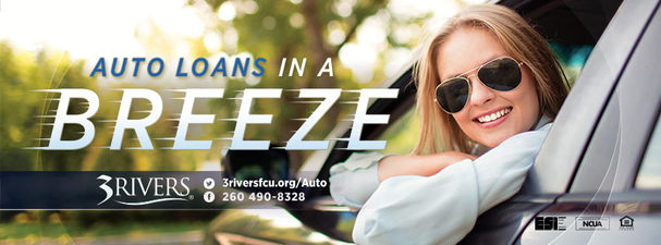 3Rivers Auto Loans - Direct Mail Piece