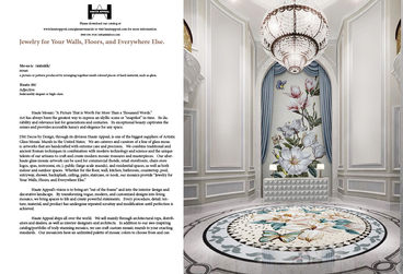 White Paper for customized tile