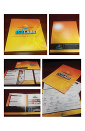 IQ Labs Sales Team Folder Design