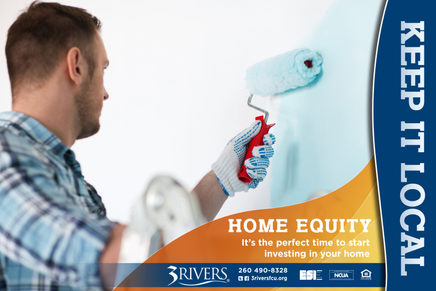 3Rivers Federal Credit Union Direct Mail for Home Equity Loans