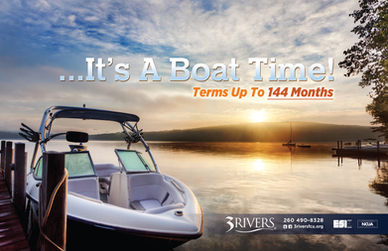 3Rivers Federal Credit Union Boat Loans Direct Mail Piece