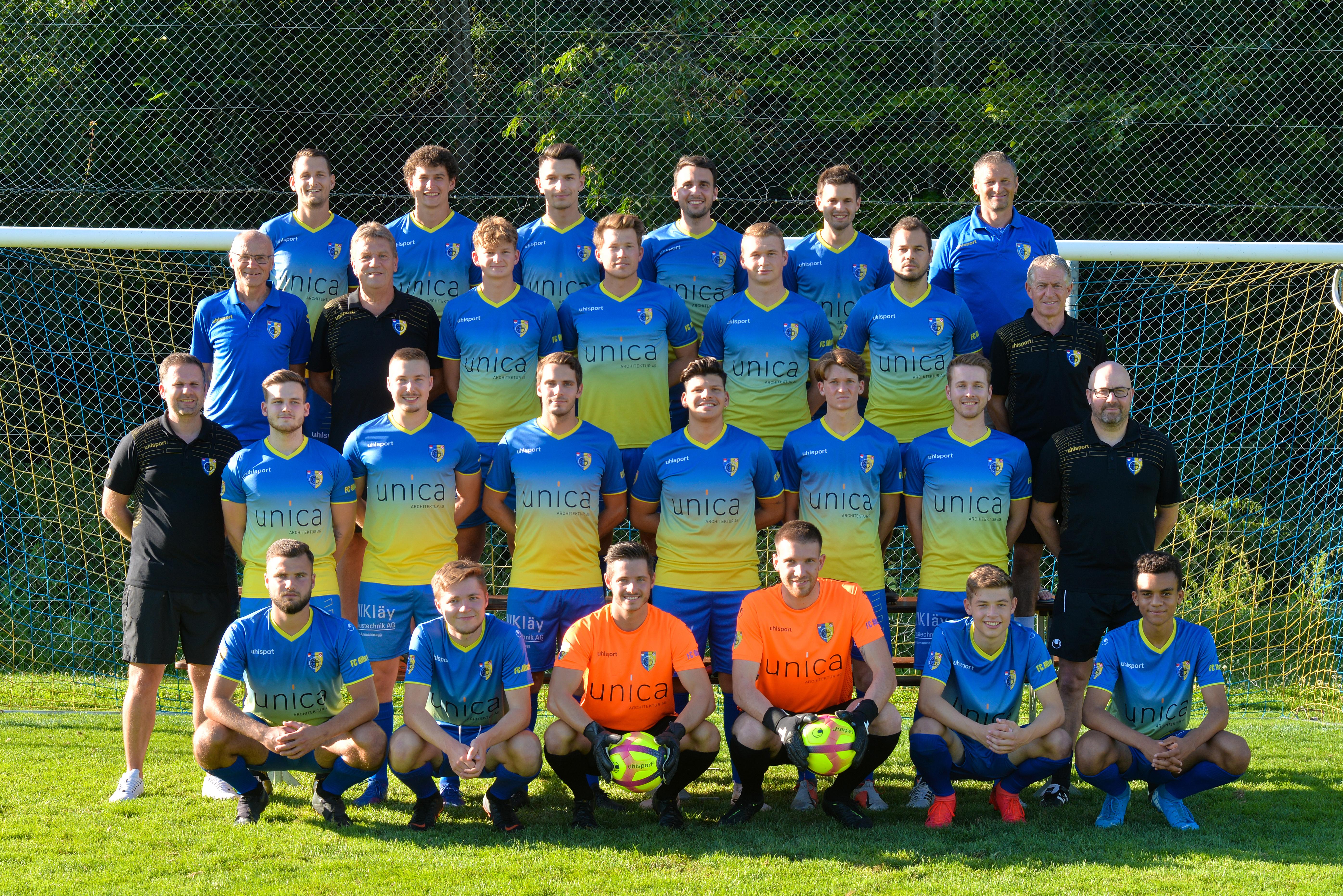 1. Mannschaft 2020/2021 Heimdress