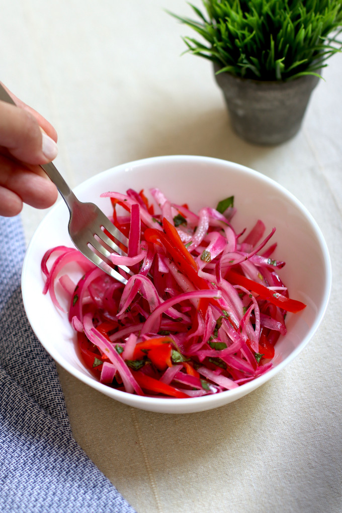 peruvian red onion relish recipe