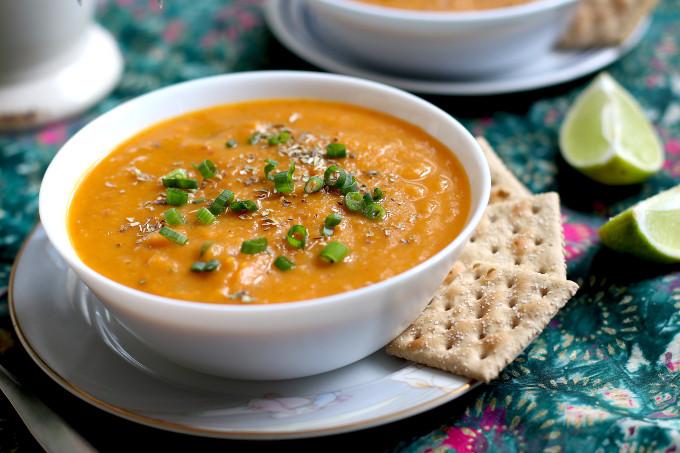 healthy sweet potato soup