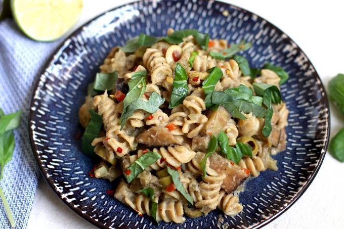 healthy eggplant pasta recipe