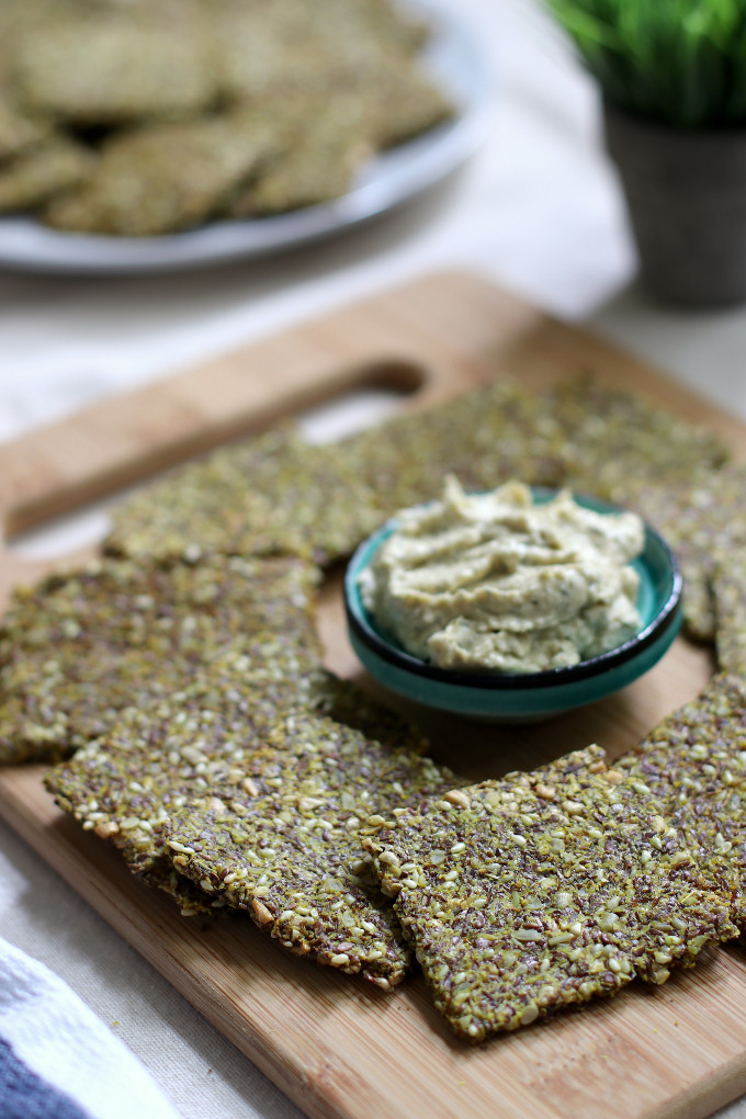 flaxseed crackers recipe