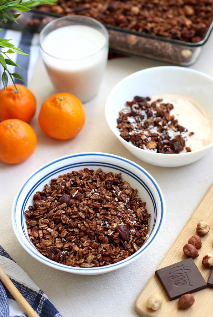 homemade chocolate granola recipe