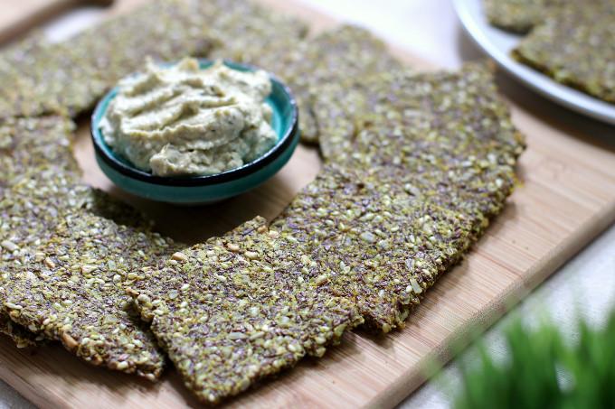 turmeric crackers