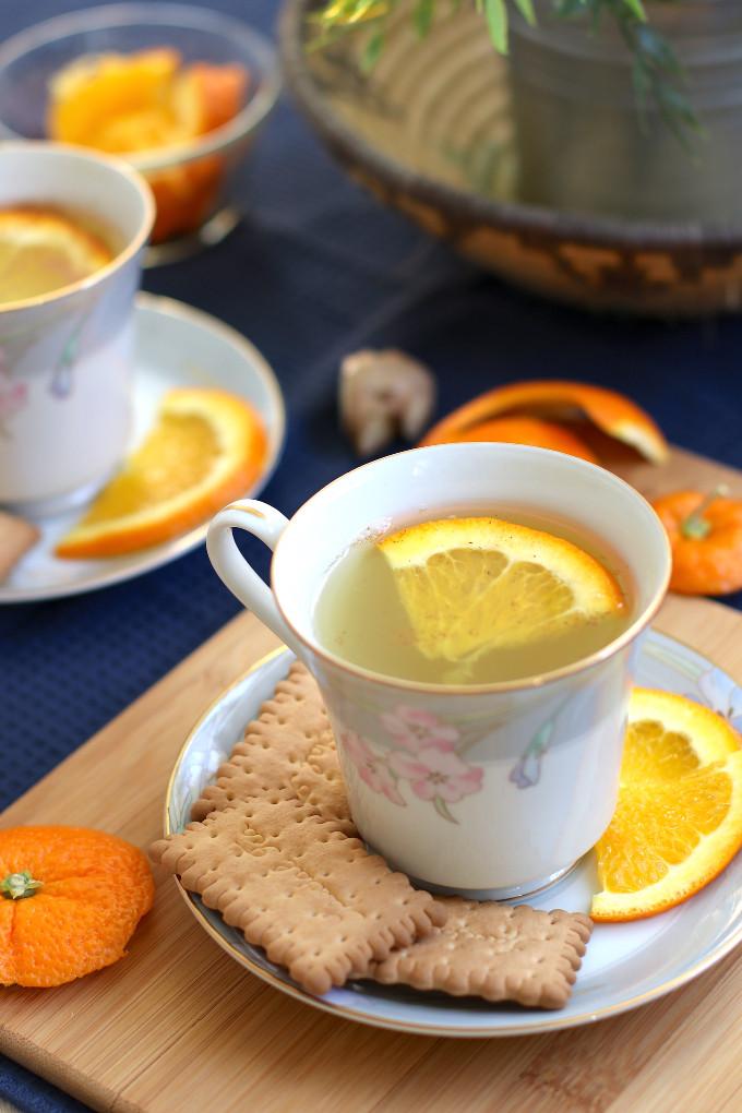 orange peel tea for weight loss