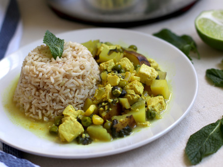 Vegan Peruvian Cau Cau