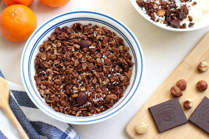 chocolate orange granola recipe