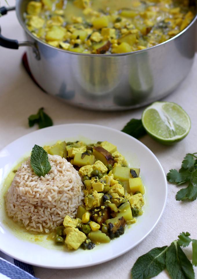 easy vegan stew