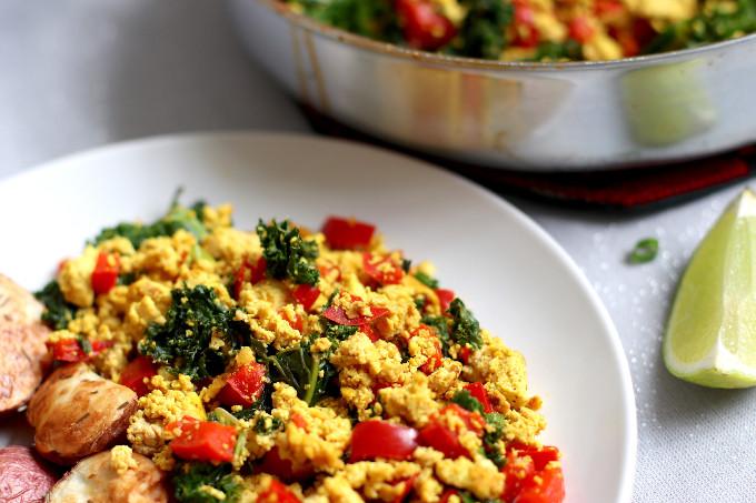 tofu scramble vegan