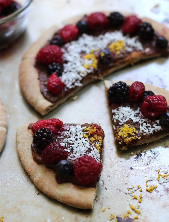 vegan dessert pizza