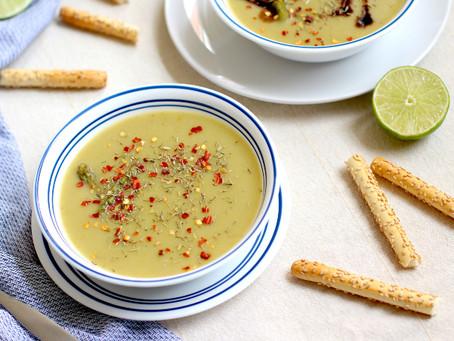 Creamy Asparagus & Potato Soup