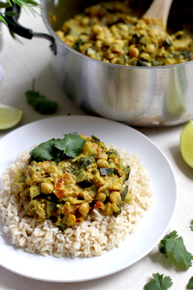 easy vegan curry for meal prep