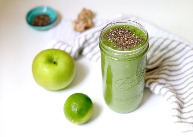 cleansing green smoothie recipe