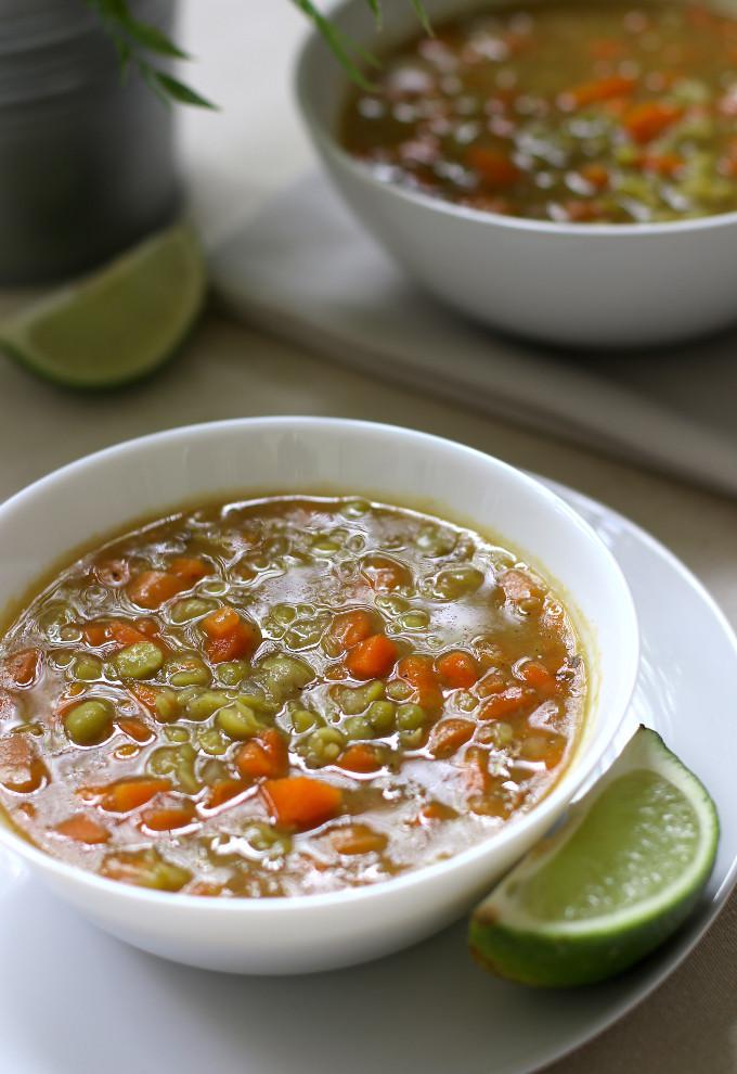 simple split pea soup recipe