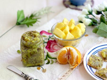 Pineapple Chia Seed Jam