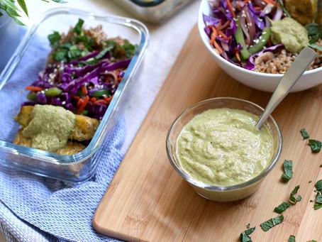 Healthy Green Bell Pepper Sauce