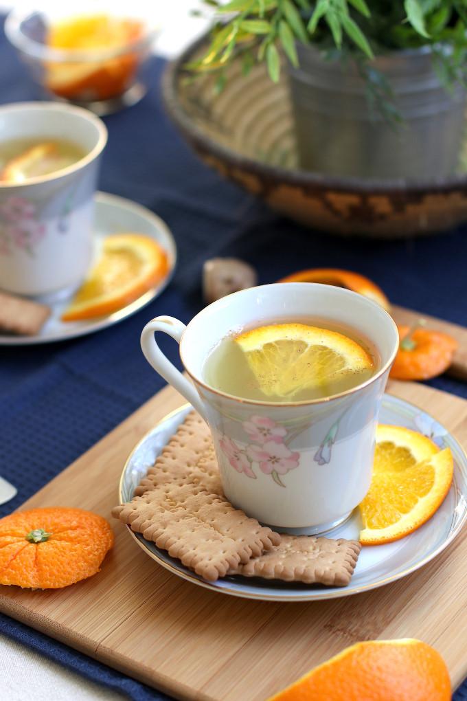 orange peel water