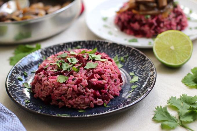 beet rice