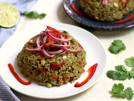 Peruvian Green Rice