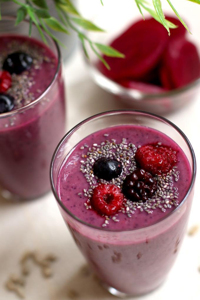 healthy detox beet juice
