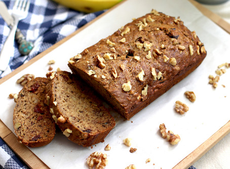 Easy One-Bowl Vegan Banana Bread