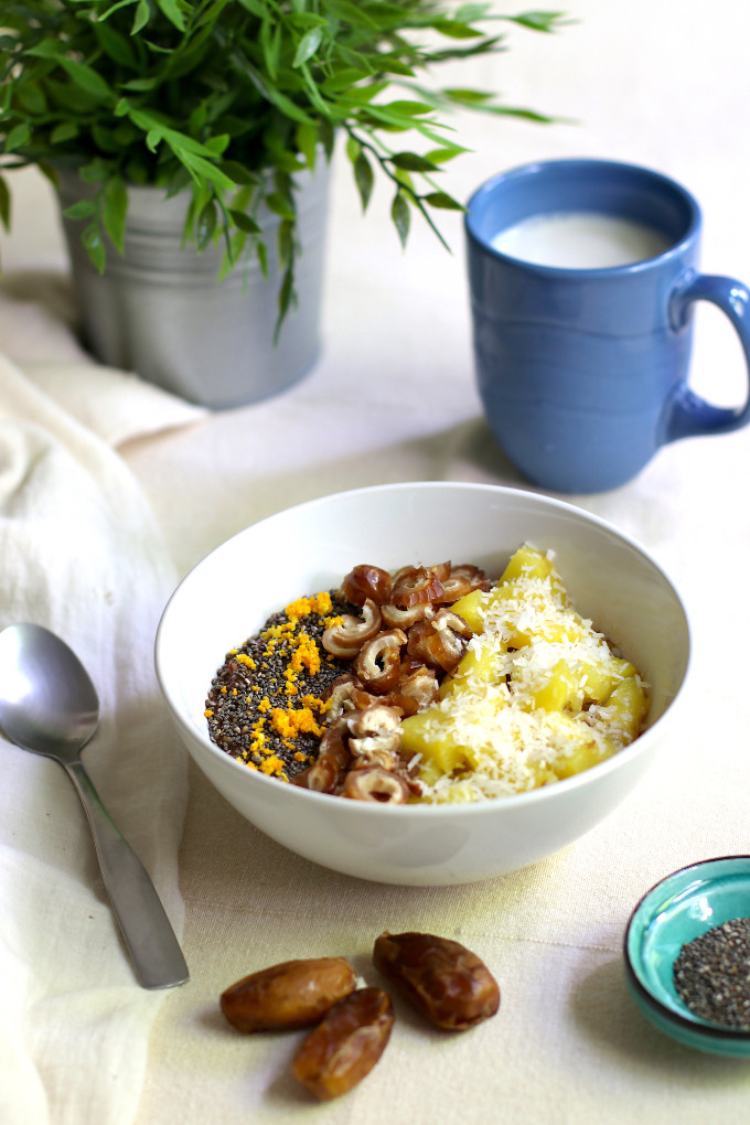 easy vegan oatmeal