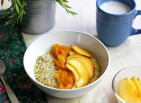 Turmeric Golden Oatmeal > In the Microwave